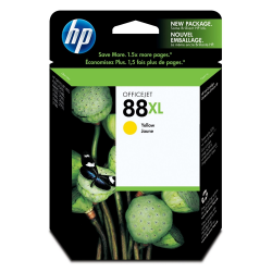 HP 88XL Yellow ink C9393AE 1700 Pgs