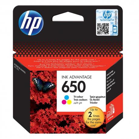 HP  650 Tri-Colour CZ102AE