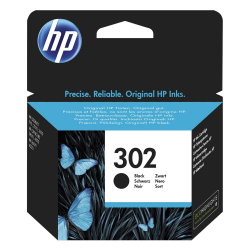 HP 302 Black F6U66AE