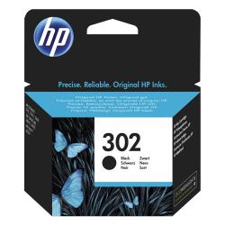 HP Μελάνι Inkjet No.302 Black (F6U66AE)