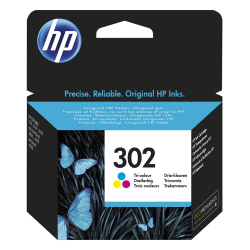 HP Μελάνι Inkjet No.302 Tri-colour (F6U65AE)