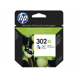HP Μελάνι Inkjet No.302XL Tri-Colour (F6U67AE)