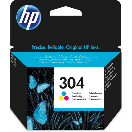 HP 304 Tri-Color N9K05AE