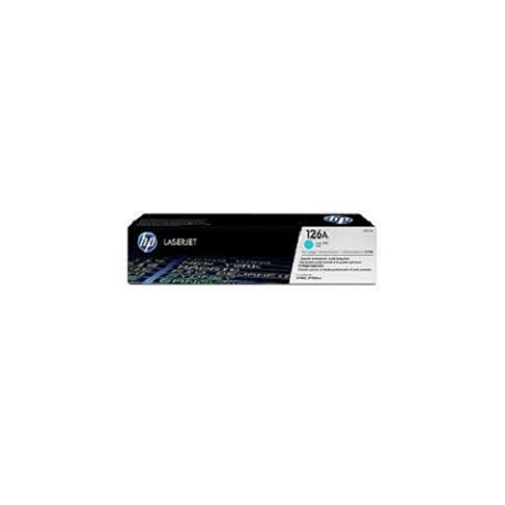 Toner HP No 126A Cyan CE311A 1.000 pgs