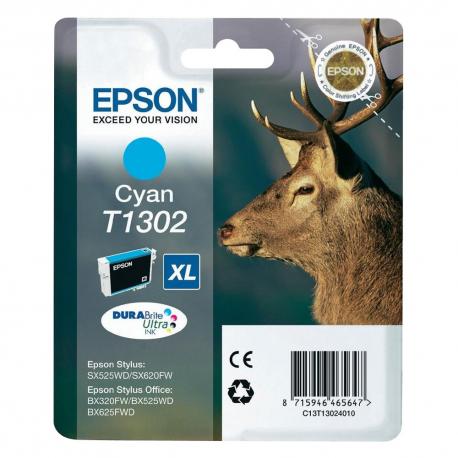 Epson T1302XL C13T130240 Cyan