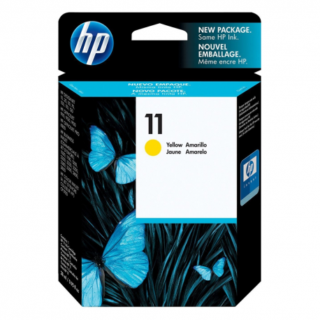 HP 11 Yellow ink C4838AE 28ml