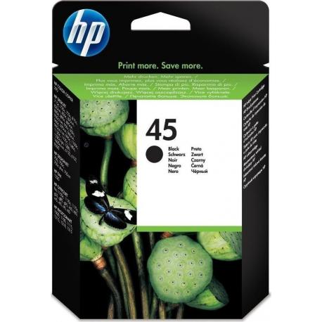 HP 45(45ml) ΜελάνιBlack (51645AE)