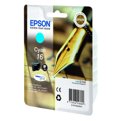 Ink Epson T1622 Cyan C13T16224010