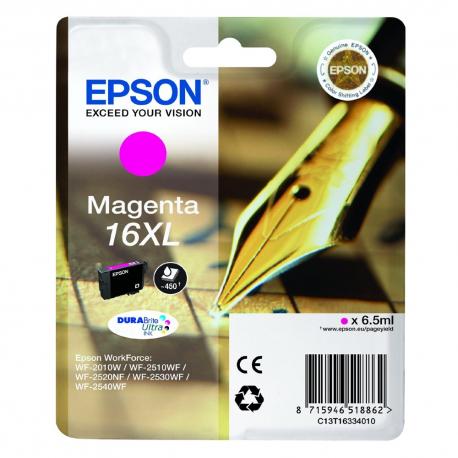 Ink Epson T1633 Magenta C13T16334010