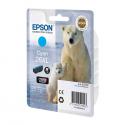 Ink Epson 26 XL Cyan C13T26324010