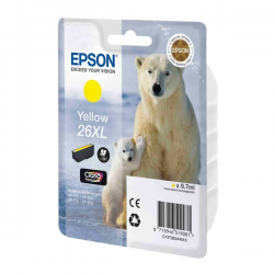 Ink Epson 26 XL Yellow C13T26344010