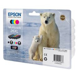 Ink Epson 26 XL Multi Pack C13T26364010