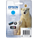 Ink Epson 26 Cyan C13T26124012 300pgs