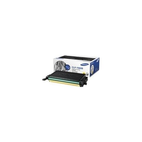 CLP-Y660 Samsung Toner Yellow 5K