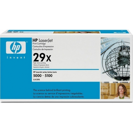 Toner HP No 29X Black C4129X 10.000 Pgs