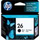 HP 26 Black Ink (51626AE)