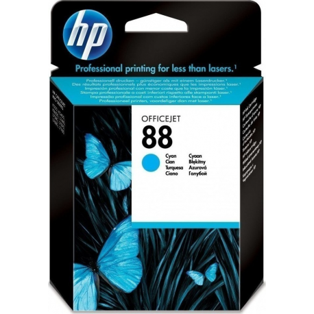 HP 88 cyan ink (C9386AE)