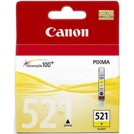 Μελάνι Canon CLI-521 Ink Yellow 2936B001