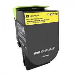 Συμβατό Toner Lexmark 71B20Y0 Yellow -2.3k Pgs