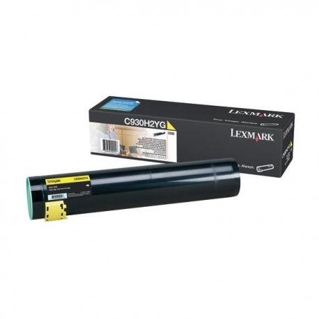 Lexmark C930H2YG Yellow Toner 24k