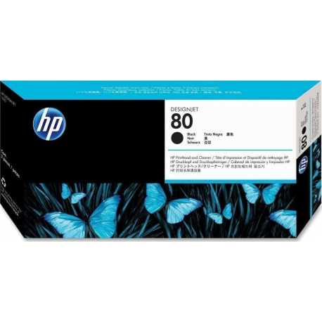 Hp 80 Black  Printhead-Cleaner C4820a