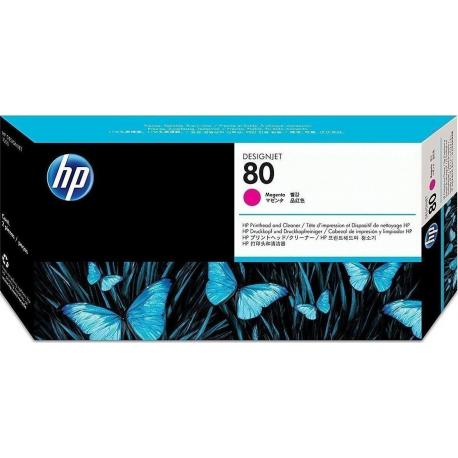Hp 80 Magenta Printhead-Cleaner C4822a