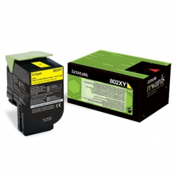 Toner Lexmark 802XY0 HY Yellow4.000pgs