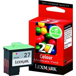 Lexmark 27 Μελανοδοχείο Color (10NX227E)