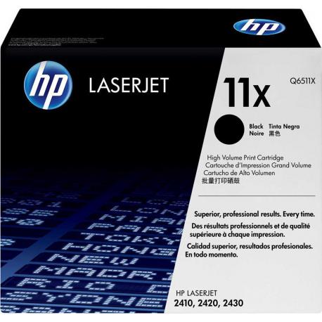 Toner HP No 11X Black HC Q6511X 12.000 Pgs
