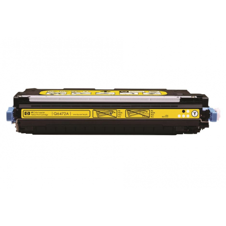 ECO PREMIUM Q6472A/502A TONER YELLOW 4000 ΣΕΛ