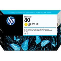 Hp 80 Yellow C4848a 350ml