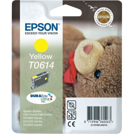 Epson T0614 Yellow Ink (C13T061440)