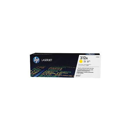 Toner HP 312A Yellow CF382A 2.700 Pgs