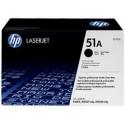 Toner HP No 51A Black Q7551A 6.500 Pgs