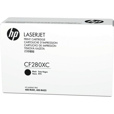 Toner HP No 80X Black HC CF280X 6.900 Pgs