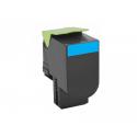 ECO PREMIUM Lexmark Toner 802SC CyanReturn Program 80C2SC0 2.000 Pgs