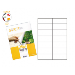 ΕΤΙΚΕΤΕΣ ΕΚΤΥΠΩΤΗ SOREX 105x42.3 100Φ