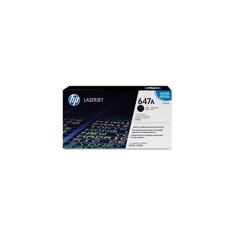 Toner HP No 647A Black CE260A 8.500 Pgs