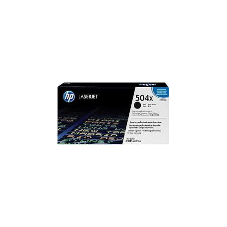 Toner HP No 504X Black HC CE250X 10.500 Pgs