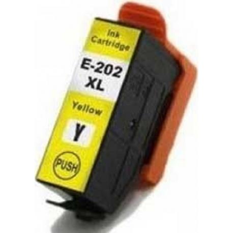 Συμβατό Epson Μελάνι Inkjet 202XL Yellow (C13T02H44010)