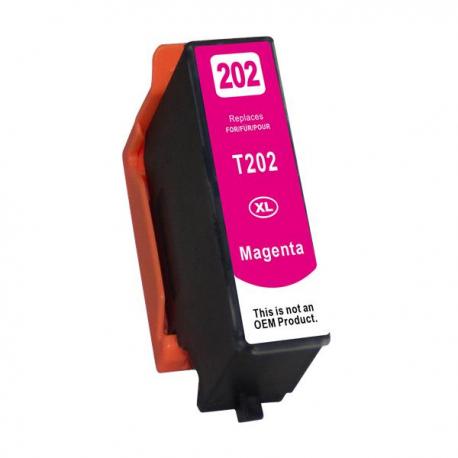 Συμβατό Epson Μελάνι Inkjet 202XL Magenta (C13T02H34010)