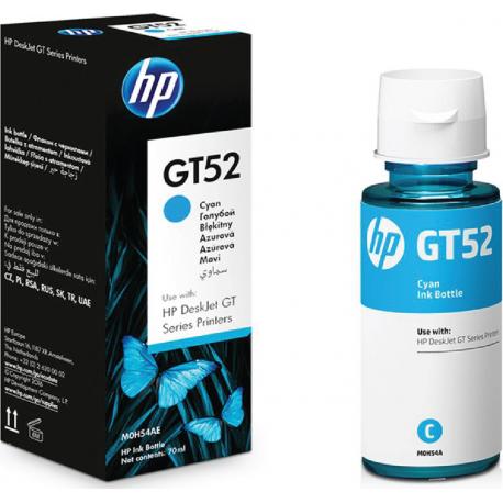 HP Μελάνι Inkjet GT52 Cyan (M0H54AE) 70ml