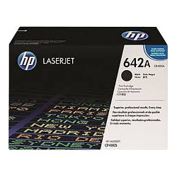 Toner HP No 642A Black CB400A 7.500 Pgs