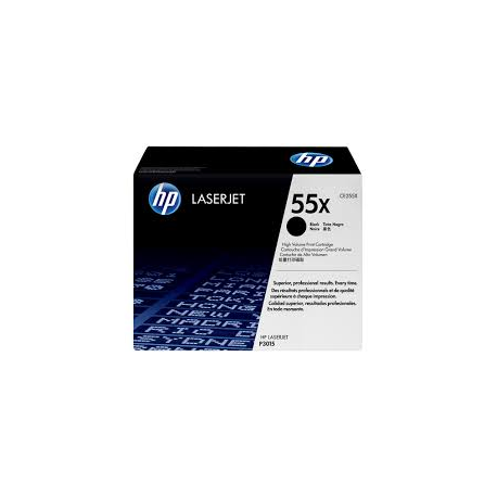Toner HP No 55X Black HC CE255X 12.500 Pgs