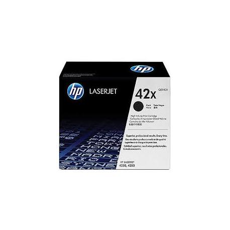 Toner HP No 42X Black HC Q5942X 20.000 Pgs