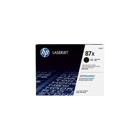 Toner HP No 87X Black HC CF287X 18.000 Pgs