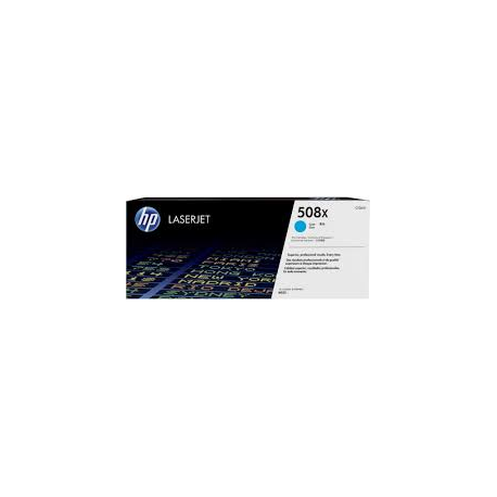 Toner HP No 508X Cyan HC CF361X 9.500 Pgs