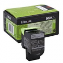 Toner Lexmark 802K Black Return Program 80C20K0 1.000 Pgs