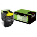Toner Lexmark 802Y Yellow Return 80C20Y0 1.000 Pgs