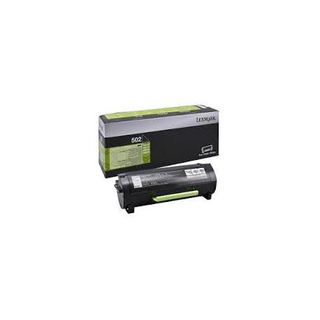Toner Lexmark 502 Black 50F2000 1.500 Pgs